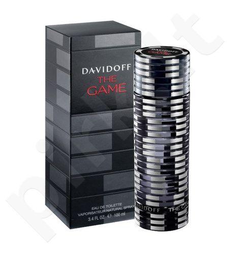 Davidoff The Game, tualetinis vanduo (EDT) vyrams, 100 ml