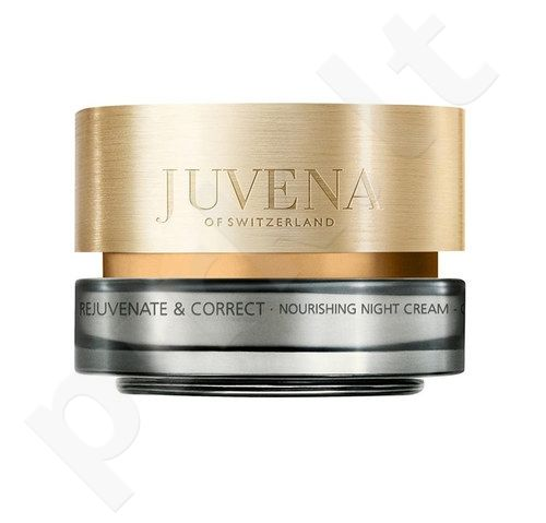 Juvena Skin Rejuvenate Nourishing naktinis kremas, kosmetika moterims, 50ml