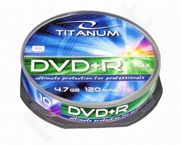 DVD+R TITANUM [ cake box 10 | 4.7GB | 16x ]