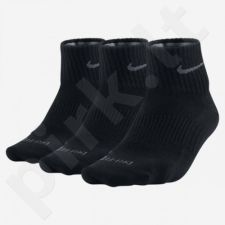 Kojinės Nike Dri-FIT Non-Cushion Quarter 3 poros SX4847-001