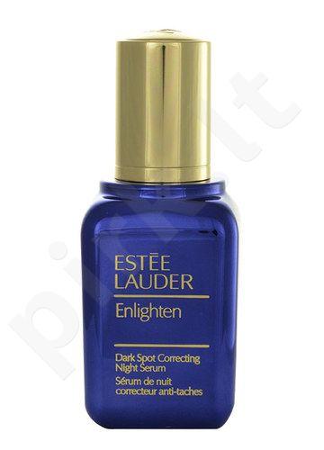 Esteé Lauder Enlighten Dark Spot Correct Night serumas All Skin, kosmetika moterims, 30ml