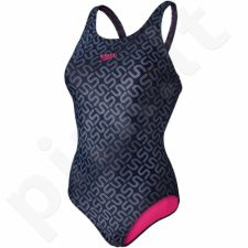 Maudymosi kostiumėlis Speedo Monogram Allover Muscleback W 8-09247A571