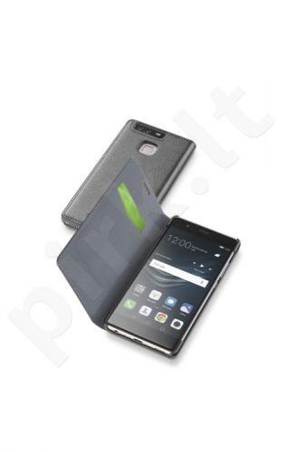Huawei Ascend P9 atverčiamas dėklas ESSEN Cellular juodas