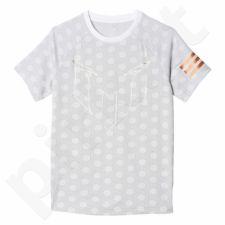 Marškinėliai adidas YB Messi Printed Tee Junior BJ8466
