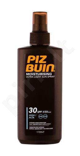PIZ BUIN Moisturising, Ultra Light Sun Spray, Sun kūno losjonas moterims, 200ml