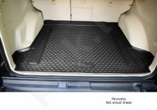 Guminis bagažinės kilimėlis FIAT 500x 2014-> black /N13011