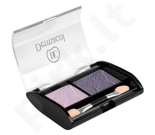 Dermacol Satin Duo akių šešėliai, 3,5g, kosmetika moterims