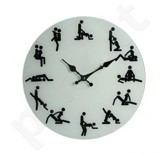"""Stiklinis laikrodis """"Kamasutra"""""""