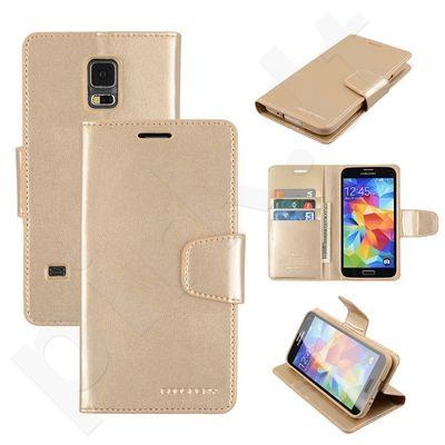 Samsung Galaxy S5 dėklas SONATA Mercury auksinis