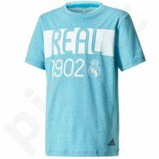 Marškinėliai adidas YB Real Madrid Tee Junior CE8939