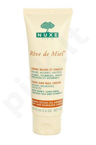 Nuxe Reve de Miel rankų ir nagų kremas, kosmetika moterims, 75ml