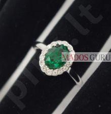 Puošnus žiedas Z351