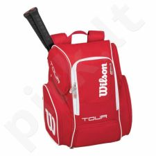 Kuprinė tenisui Wilson Tour V Backpack Large RD WRZ843696