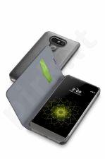LG G5 atverčiamas dėklas BOOK ESSEN by Cellular juodas