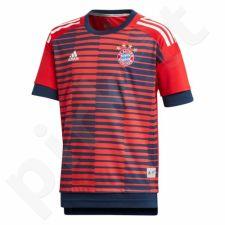 Marškinėliai futbolui adidas Bayern Monachium Junior CF1577
