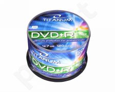 DVD+R TITANUM [ cake box 50 | 4.7GB | 16x ]