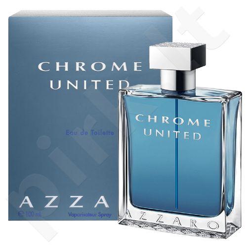 Azzaro Chrome United, tualetinis vanduo vyrams, 100ml, (testeris)