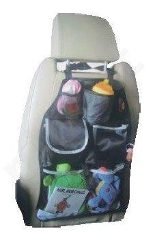 Apsauga - krepšys daiktams sudėti už sėdynės