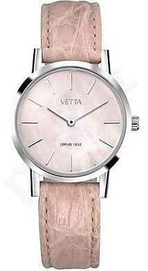 Laikrodis VETTA    MERIDIEN ONLY TIME kvarcinis QUARZO moteriškas CASSA SLIM 33 mm