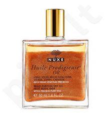 NUXE Huile Prodigieuse Or, Multi Purpose Dry Oil Face, Body, Hair, kūno aliejus moterims, 50ml