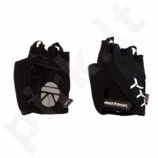 Pirštinės dviratininkams Meteor GEL BX-3 juodas