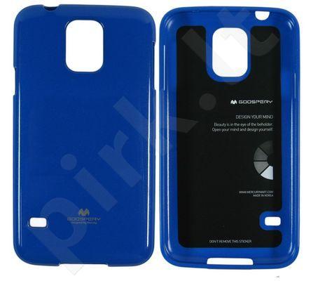 Samsung Galaxy S5 dėklas JELLY Mercury mėlynas