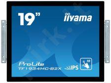 Jutiklinis monitorius Iiyama TF1934MC-B2X 19'', 14ms, VGA, DVI-D, USB, juodas