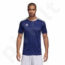 Marškinėliai futbolui adidas Entrada 18 CF1036