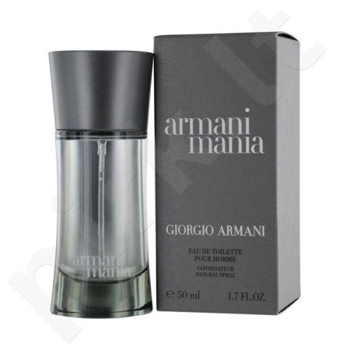 Giorgio Armani Mania, tualetinis vanduo (EDT) vyrams, 50 ml