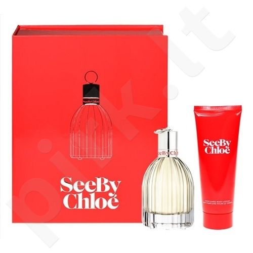 Chloe (Edp 50ml + 75ml Body lotion) See by Chloe, 50ml, kvapusis vanduo (EDP), moterims