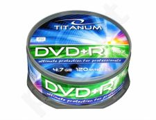 DVD+R TITANUM [ cake box 25 | 4.7GB | 16x ]