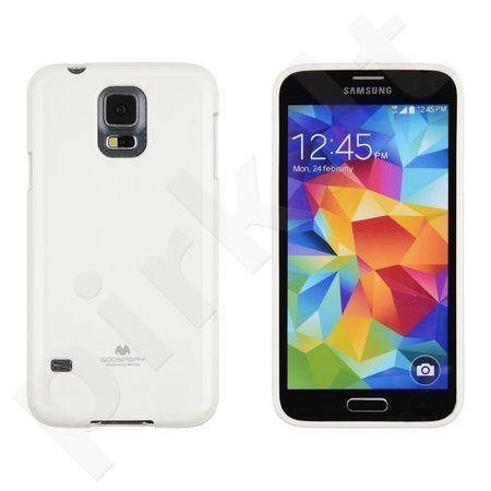 Samsung Galaxy S5 mini dėklas JELLY Mercury baltas