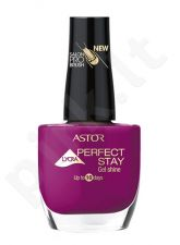 Astor Perfect Stay nagų lakas, kosmetika moterims, 12ml, (406 Vintage Rose)
