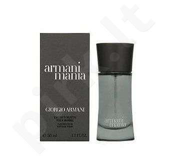 Giorgio Armani Mania, tualetinis vanduo (EDT) vyrams, 100 ml