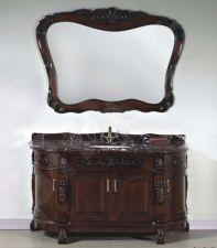 Vonios kambario baldai 8158B su veidrodžiu