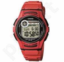 Elektroninis Casio vyriškas laikrodis W-213-4AVES
