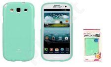 Samsung Galaxy S3 dėklas JELLY Mercury mėtinis