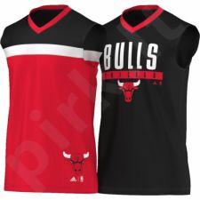 Marškinėliai krepšiniui dvipusė  Adidas Winter Hoops Chicago Bulls M AP4872