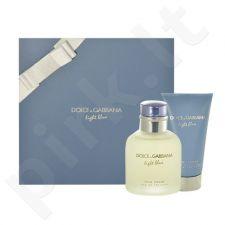 Dolce & Gabbana Light Blue Pour Homme rinkinys vyrams, (EDT 75ml + 75ml losjonas po skutimosi)
