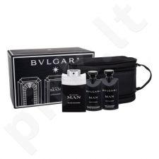 Bvlgari Man Black Cologne rinkinys vyrams, (EDT 100 ml + dušo želė 75 ml + losjonas po skutimosi 75 ml + kosmetikos krepšys)