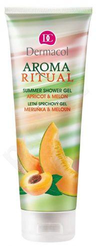 Dermacol Aroma Ritual, Apricot & Melon, dušo želė moterims, 250ml