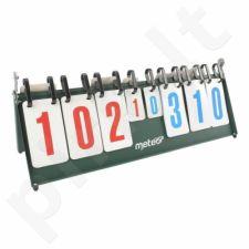 Tinklinio , krepšinio ir stalo teniso rezultatų lentelė Meteor 16001
