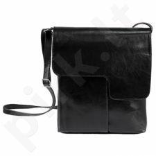 DAN-A T216 juoda rankinė iš natūralios odos , moteriška