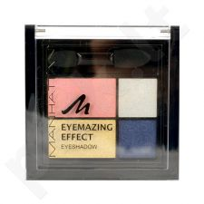 Manhattan Eyemazing Effect akių šešėliai Palette, kosmetika moterims, 15g, (81D Pastel The Truth)