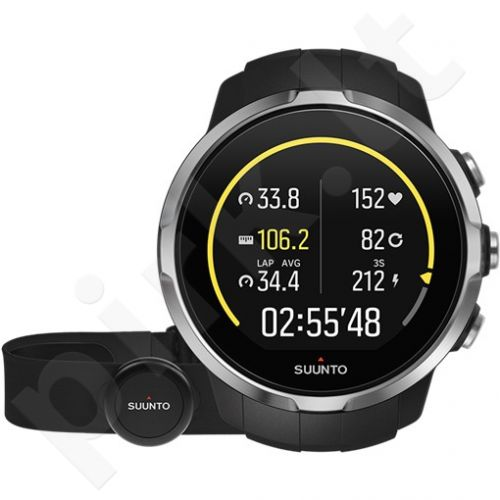 Vyriškas laikrodis SUUNTO Spartan Sport Black hr
