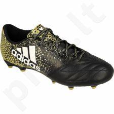 Futbolo bateliai Adidas  X 16.3 FG Leather M BB4195