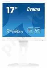 Monitorius Iiyama B1780SD 17'' TN LED, DVI, Garsiakalbiai, 5ms, Baltas
