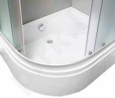 Padas dušo kabinai pusiau gilus 100x80 dešininis