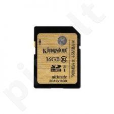 Atminties kortelė Kingston Ultimate 16GB SDHC UHS-I