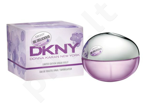 DKNY Be Delicious City Blossom Urban Violet, EDT moterims, 50ml